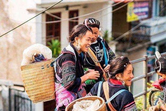 Full-dag Bac Ha kultur og markedstur...
