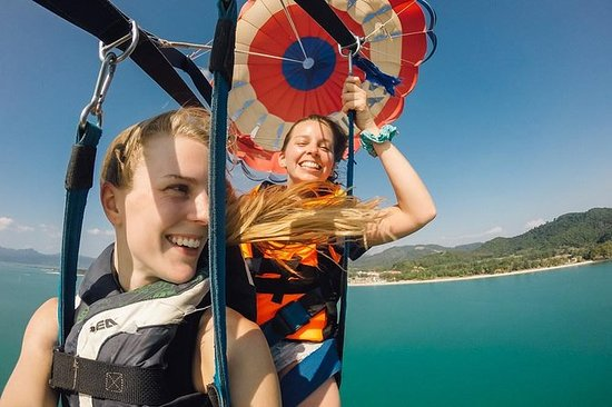 Two Great Adventures: Parasail Tour ...