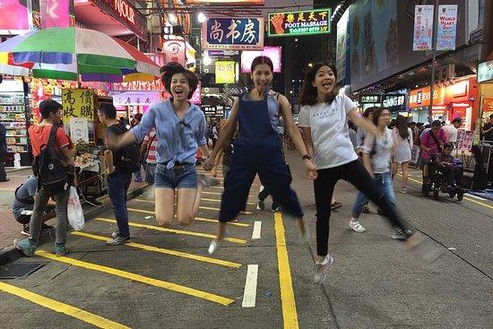 Privat Mongkok City Night Tour i Hong...