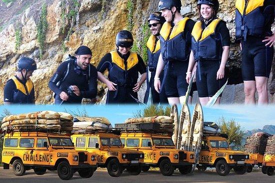 Vandsportsudfordring på Mallorca...