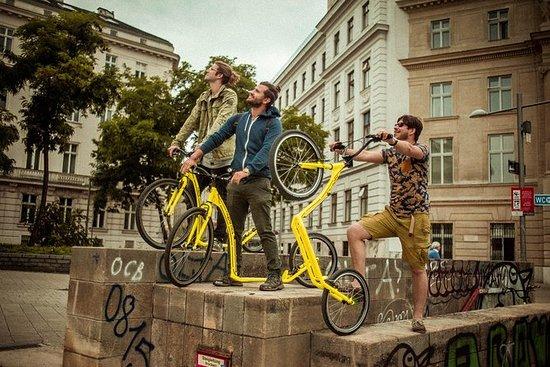 2-stündige Fahrradtour mit dem Kick...