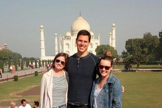 Delhi til Taj Mahal og tilbake bil og...