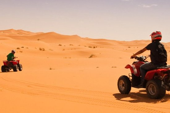 ATV Quad Biking in der Merzouga Wüste