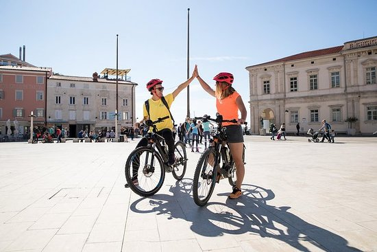 Tour en bicicleta eléctrica Piran y...