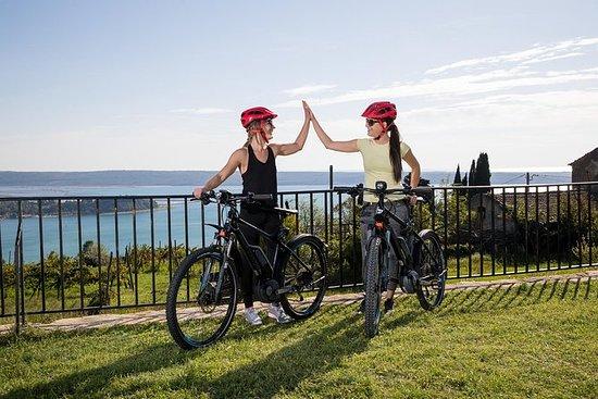 带电动自行车的5道菜美食之旅