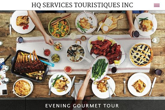 Evening Gourmet Tour 5 Course Dinner...