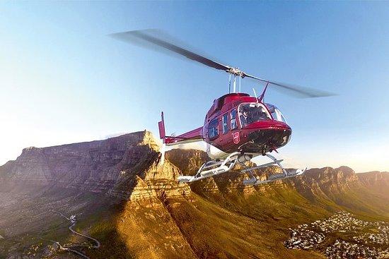 Tour en hélicoptère du Cap