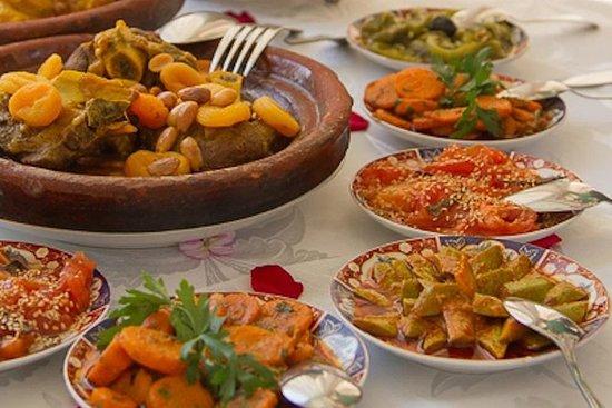 5 horas de aula de culinária em Fez