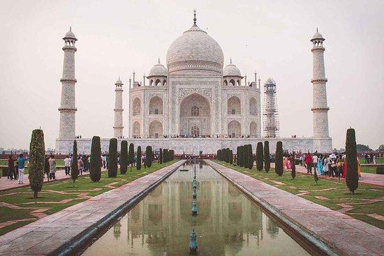 Samme dag Agra-tur fra Delhi