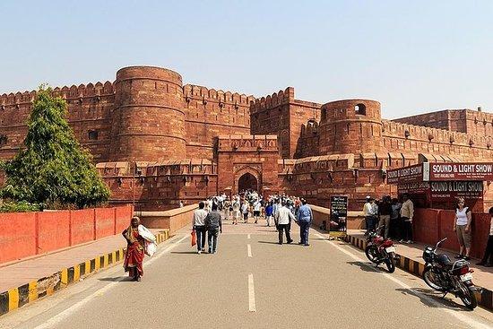 泰姬陵和阿格拉堡:从德里开车的全日游