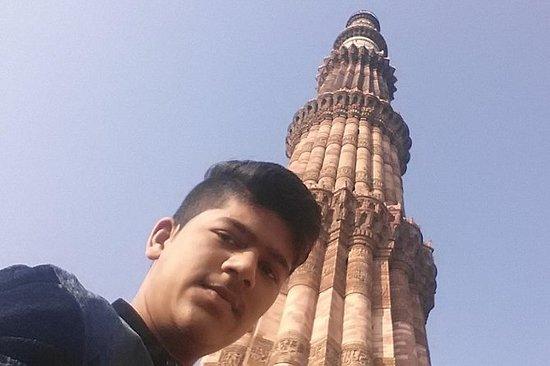 Privat en dag gammel og New Delhi...