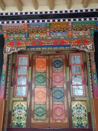 Main temple door