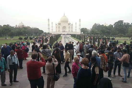Private Taj Mahal Sunset Day Tour From...