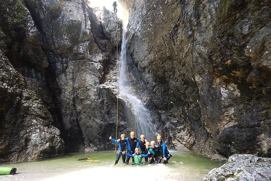 Canyoning nel canyon di Fratarica