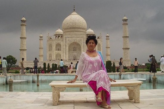 Samme dag Taj Mahal tur med bil