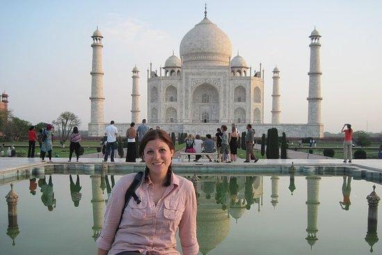 Samme dag Agra Tour med bil
