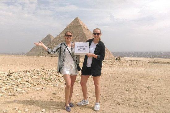 Halbtagesausflug zu den Pyramiden...