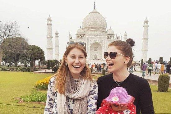 Excursão de dia inteiro no Taj Mahal e...