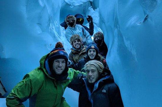 Tour de invierno en el glaciar...