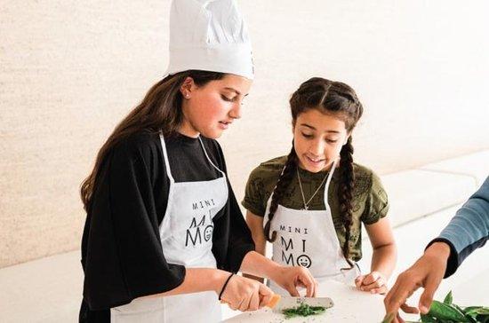 Kinderen kookles in de Algarve