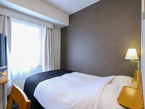 APA Hotel Takasaki Ekimae: ダブルルーム(コンパクトな9㎡・ベッド幅140cm)