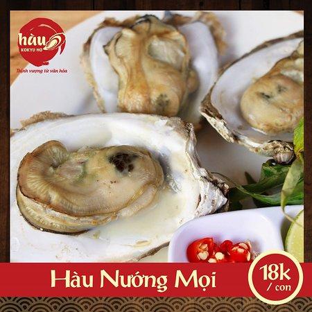 Hau Kokyu Ho: Hàu Nướng Mọi của Hàu Kokyu Ho. Nếu bạn yêu mùi vị mộc mạc và muốn nếm vị biển của những con Hàu, thì bạn đừng bỏ qua món Hàu Nướng Mọi!   Đặc biệt, khi đến với Kokyu Ho, sẽ có rất nhiều món ngon khác từ Hàu để bạn dùng chung