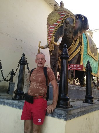 Kalka Travels: Maharajah's elephant