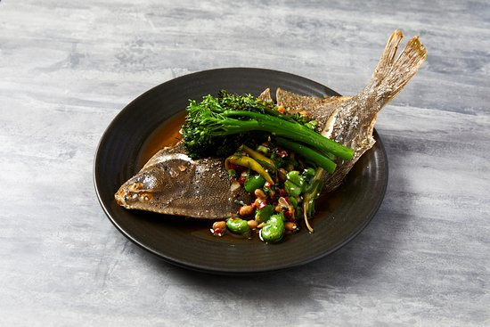 The Stoop: Whole baked fish