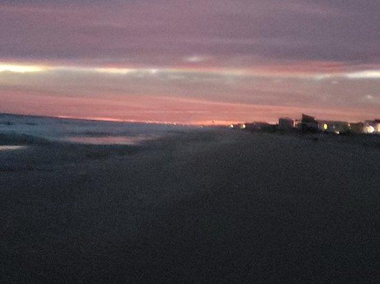 Shots From surrounding beaches near the hotel