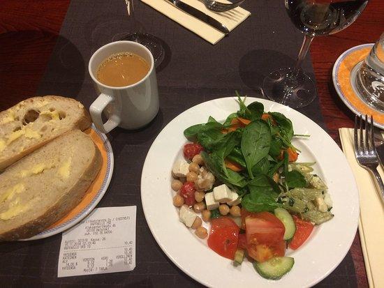 My Lunch Buffet! Salad!