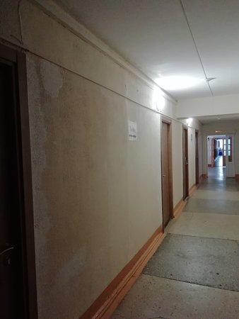 Sanatorium Karagayskiy bor: Коридор в лечебном корпусе