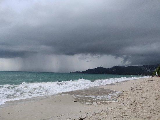 Chaweng Beach: Cheweng beach in november
