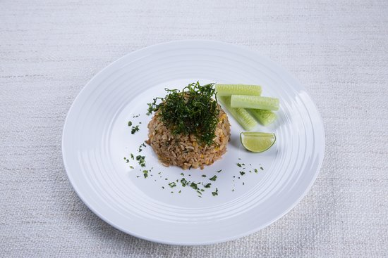 Soi Dao Restaurant: Fried rice with salted fish, chicken and crunchy kale