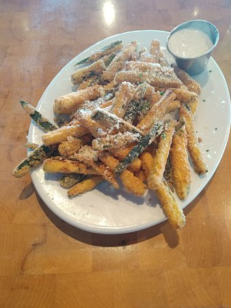 Delicious and somewhat nutritious Zucchini Fries