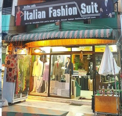 Italian Fashion Suit