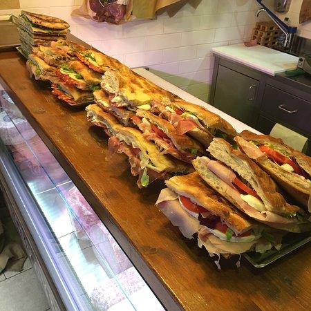 Bestes Sandwich der Stadt