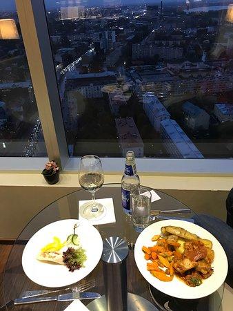 Executive Lounge dinner on 28th floor