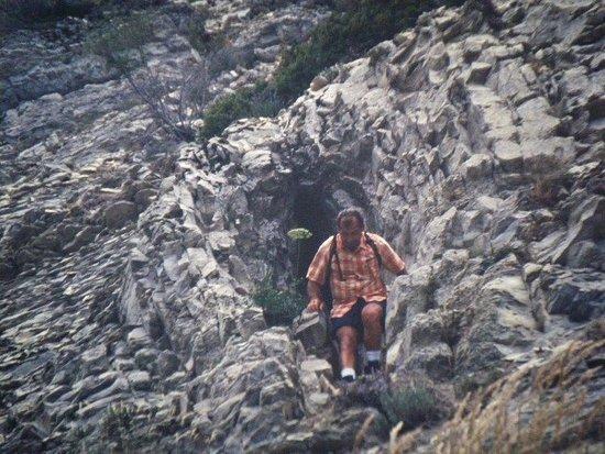 Beaumont-du-Ventoux, Γαλλία: Baume  de la  Mene   =  grotte  du Vent  =  Trou Soufflant    Balcons  nord  Mont Ventoux  ravin de la  Riaille   long E 5°18'  Lat N 44°10'  alt 1450m 3km100  depuis  le  Camping  du Mont Serein