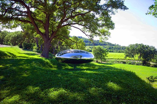 Chris Curtis Photography: Tom Shannon sculptures nestles in the Provence countryside at Château La Coste