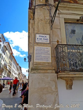 Praça Oito de Maio, Coimbra, Portugal