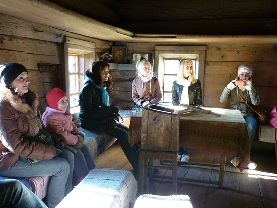 Welcome to The Hut of Granny Katya (the oldest log house in Western Siberia, built in mid of the 17th centuary and survived without any changes!