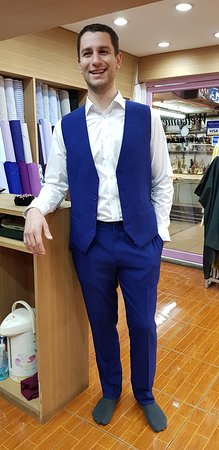 Best quality custom made suits in Night Bazaar Chiang Mai Tony Tailors