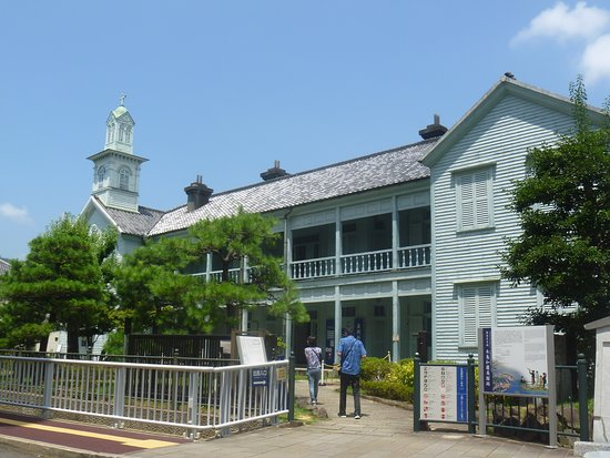 The Site of Dejima Dutch Commercial Bldg