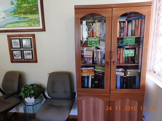A library with good collection of Books