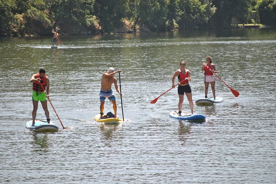 Vila do Conde, Portugal: Stand Up Paddle no Rio Douro