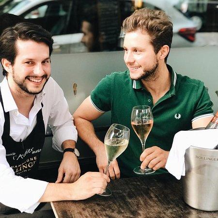 Maxime und Denis Leoncelli