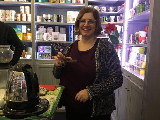 Tea sommelier e blogger Barbara Volo