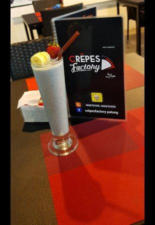 Crepes Factory: Milkshake