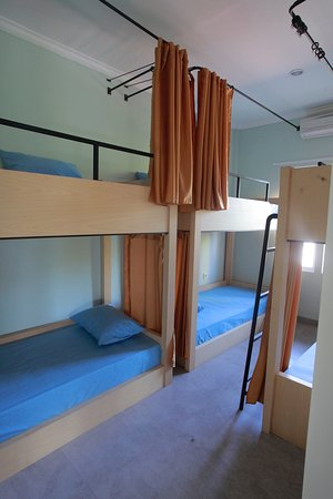 4-Bed Mixed Dormitory Room with View