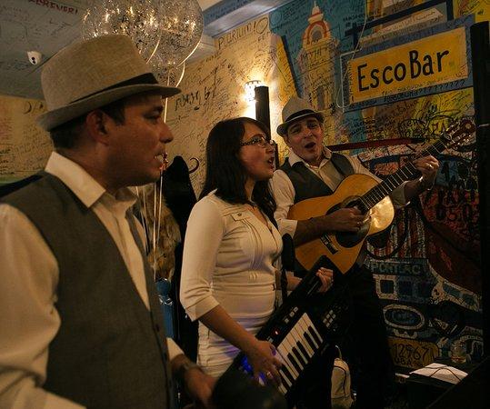 Escobar. Cuban restaurante y Escondido bar: Live music Thursday-Saturday